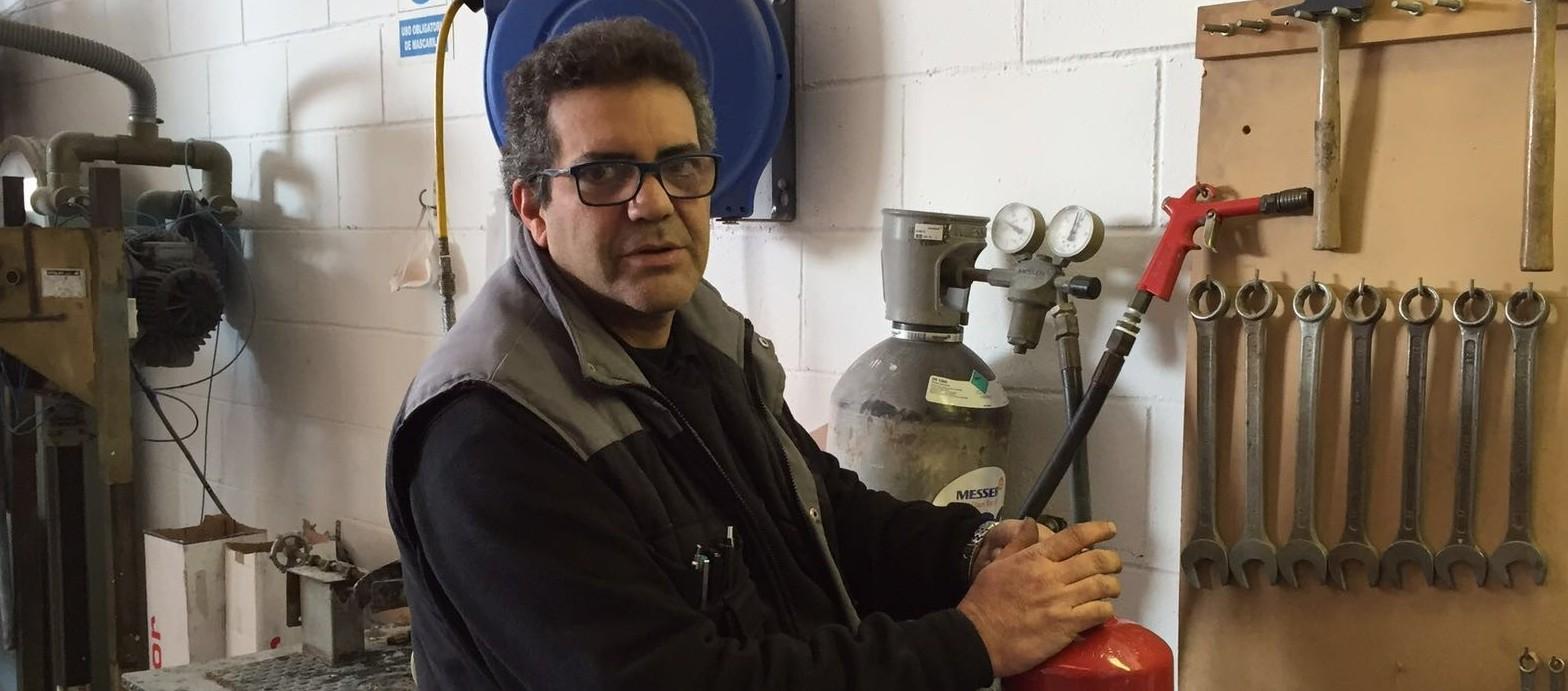 Nestor Arvelo prevenfoc extintores