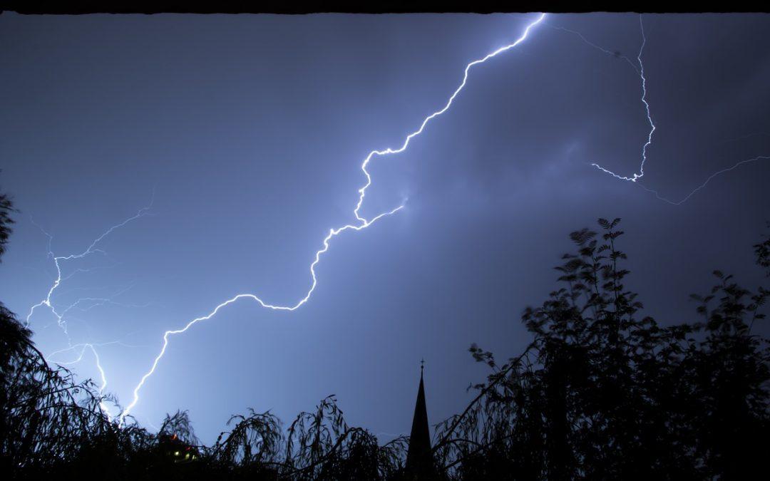 Protección contra rayos en tormentas (I)