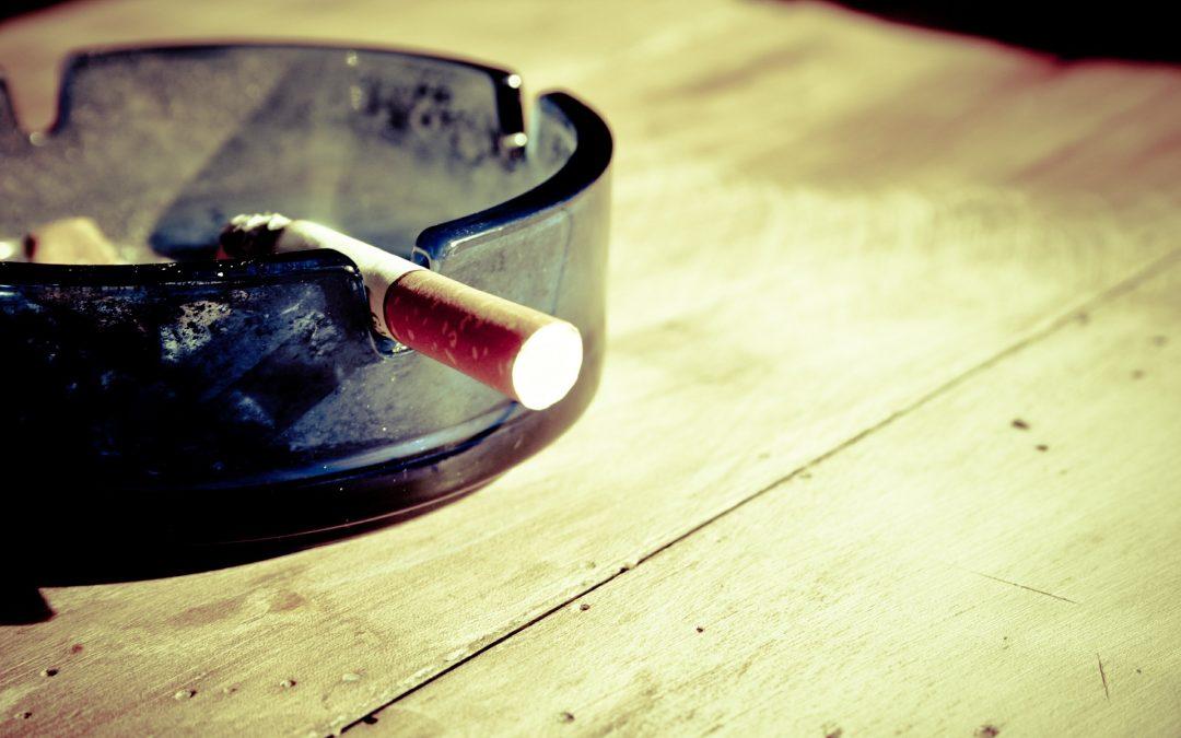 El tabaco y los incendios
